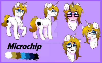 Ref Commission - Trotcon 2018 by Twisted-Sketch