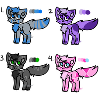Cat Point Adoptables - [1/4 OPEN] by ARangerAdopts