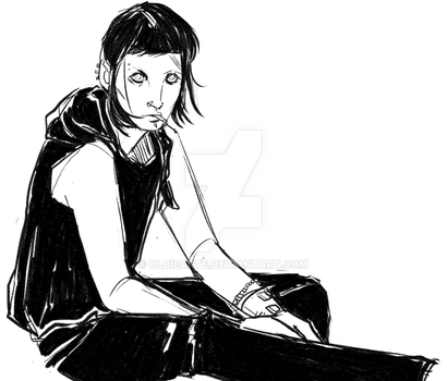 Salander by oldiearte