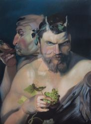 Two Satyrs by Solty88