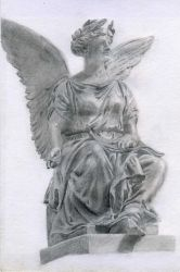 Angel on O'Connell Street by Dara-is-Still-alive