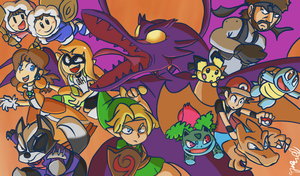 Super Smash Bros Ultimate by TyreseL