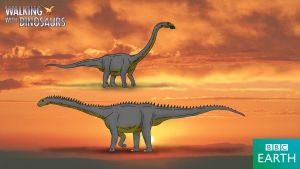 Walking with Dinosaurs: Cetiosaurus by TrefRex