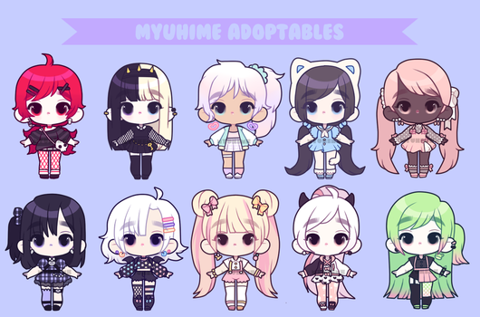 $11 Adopts: OPEN by MyuHime