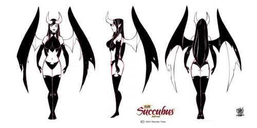 Model sheets Lith succubus by celaoxxx