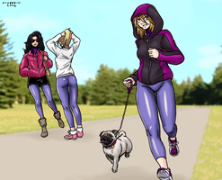 Jogging by Shabazik