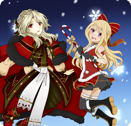 Fairy Tail: Firead 2016 Winter Collab by LilyBlizz