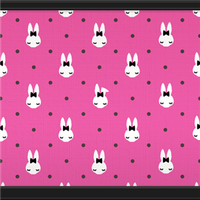 Bunny  Dots (Rose Pink) by Rosemoji