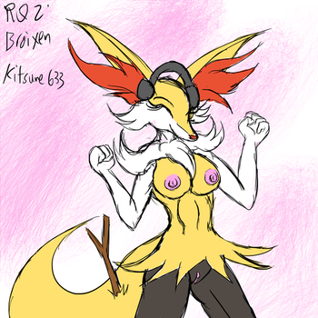 15/2/18 Stream Request 2: Braixen by Snowfyre