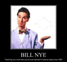 BILL NYE. by Trichechus