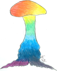 Blendy Split Shroom by LiquidCandyRainbow
