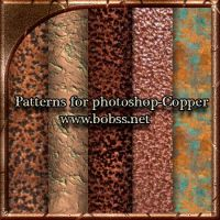 Patterns for photoshop-Copper by bobs66