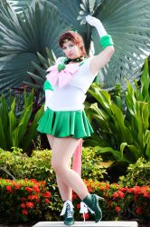 Sailor Jupiter - improved 2! by HoodedWoman