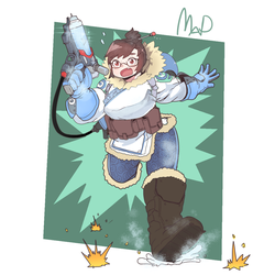 overwatch mei by PK4G