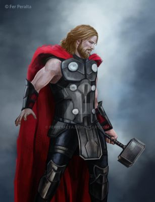 Thor (Concept Art - Version 1) by FerPeralta