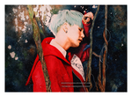 Suga from BTS by Woodstockowa