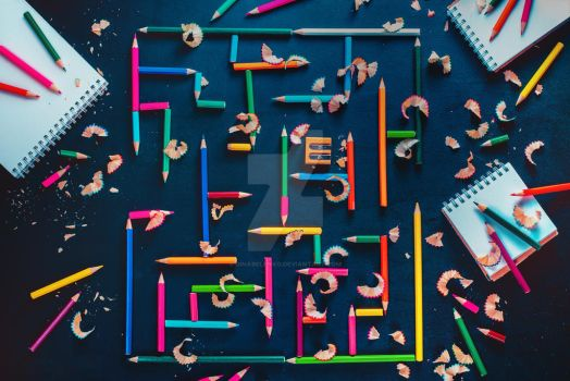 Writing Excuses: Maze by dinabelenko
