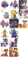 Pokemons and trainers 10 by Novalyfe