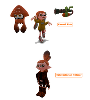 Chaos Splatter Profile: Amber by JamaicanHedgie08
