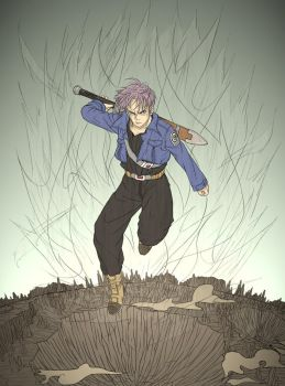 Commission - Future Trunks by osy057