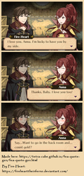 Fire Emblem: Awakening - S+ Conversation with Anna by FireheartTheInferno