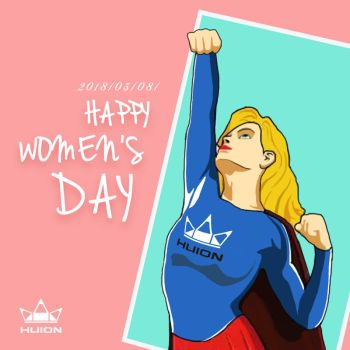 Happy International Working Women's Day! by huion
