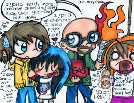 Breaking Bad: Chemistry by Violent-Rainbow