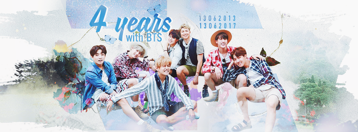 4 YEARS WITH BTS by vuihay954