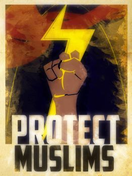 Heroes Protect - Ms.Marvel - Muslims by KerrithJohnson
