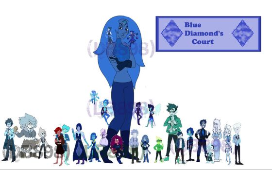 The New Blue Diamond Court by DB898
