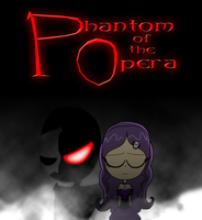 Phantom of The Opera Gothic version poster by Montatora-501
