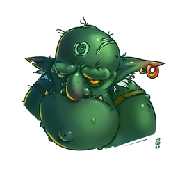 Tired troll by MadOyster