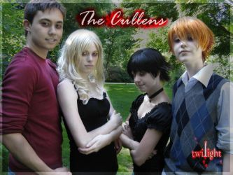 The Cullen Family by Bramarb
