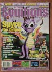 Spyro the Dragon and Lara Croft Magazine Cover by DarthArchanist