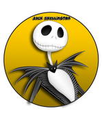 Jack Skellington Pin by BrittanysDesigns