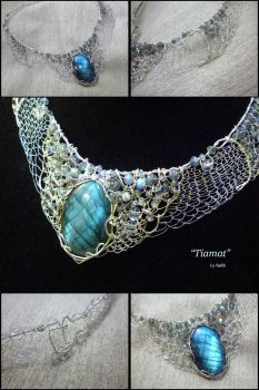 Tiamat, Goddess of the Ocean by AMyriadVice