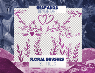 Brushes 001 // Floral by BEAPANDA