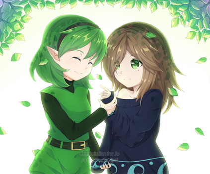 Commission | Levy and Saria by KheilaHirai