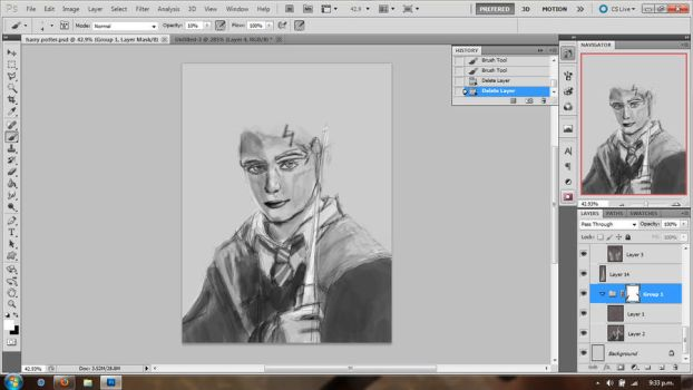 Harry Potter WIP by Unpolishedknight