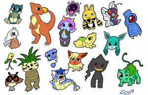 Pokemon Dump by Crysums