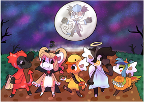 #1 Event - The Hollowbean Trick or treat by Torotiel