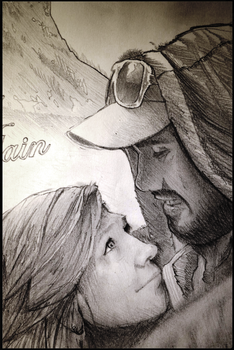 Couple Portrait - Cassy and Alain (closer look) by InkedOnyx