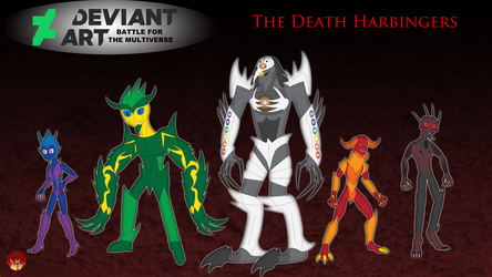 Multiverse - The Death Harbingers by Daizua123