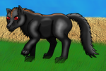 Black Wolf 2 by horse14t