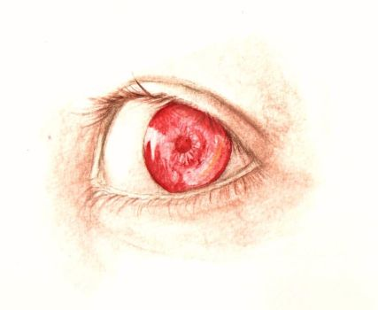 Red eye by EvilHateYouAll