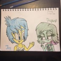 Joy and Disgust by Riyana2