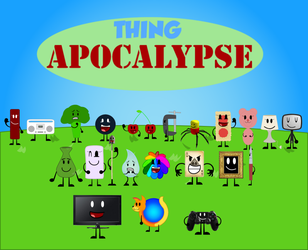 Thing Apocalypse Poster by BGFox2