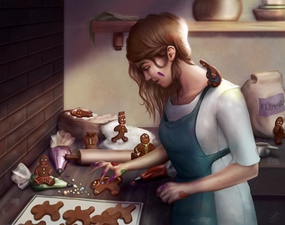 Gingerbread by Limerry