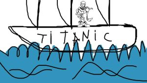 Papyrus on Titanic by DarkVirus87