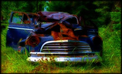 Abandoned Wreck ... by thren0dy